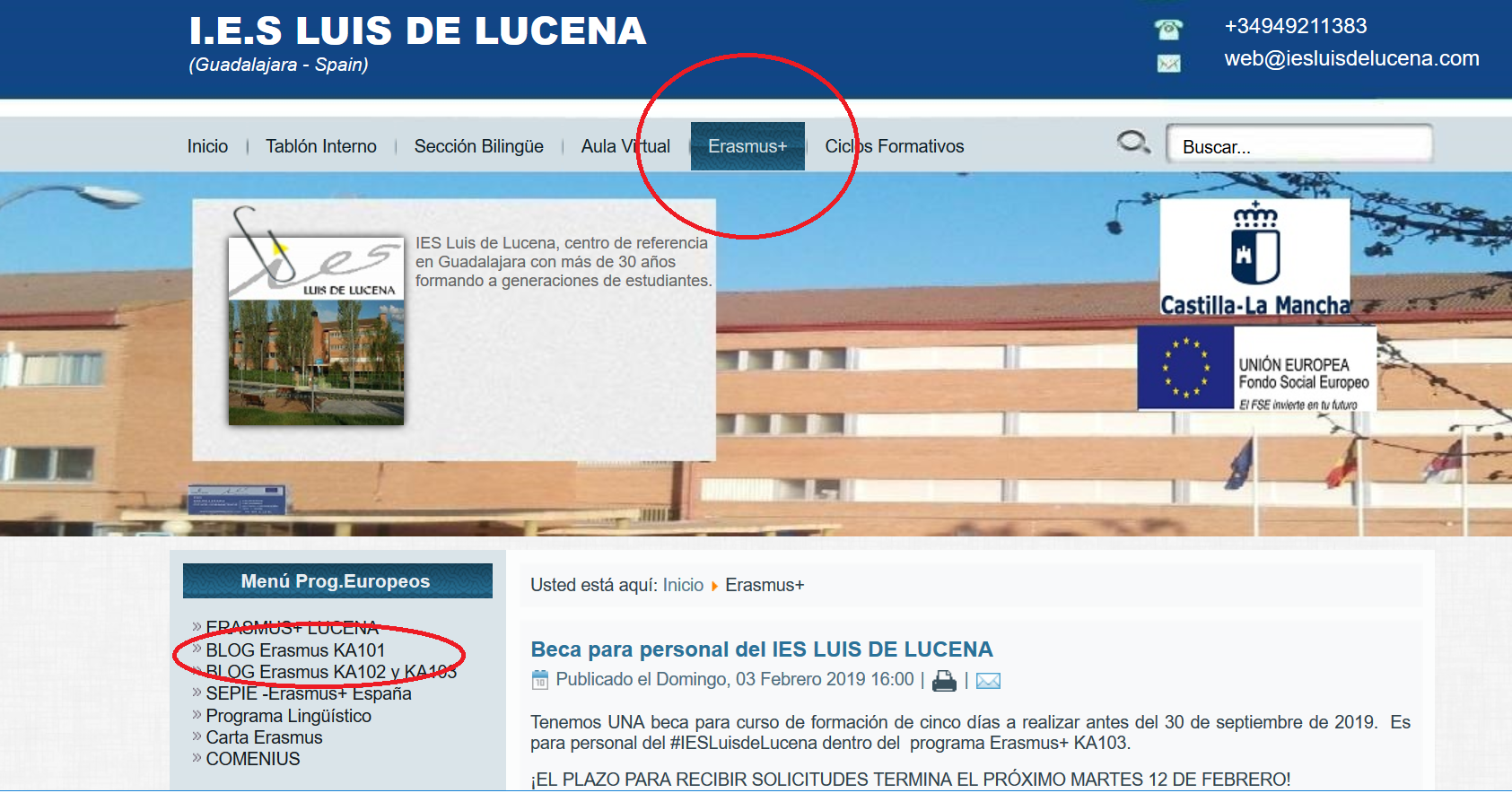 IES LUIS DE LUCENA